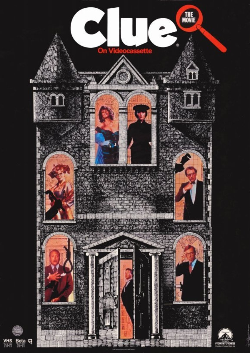 VHS cover for the film