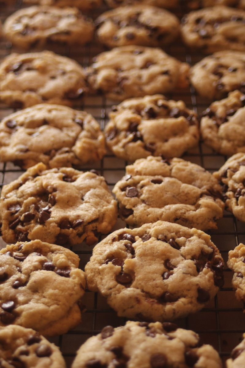 These vegan cookies have a perfect chewy texture.
