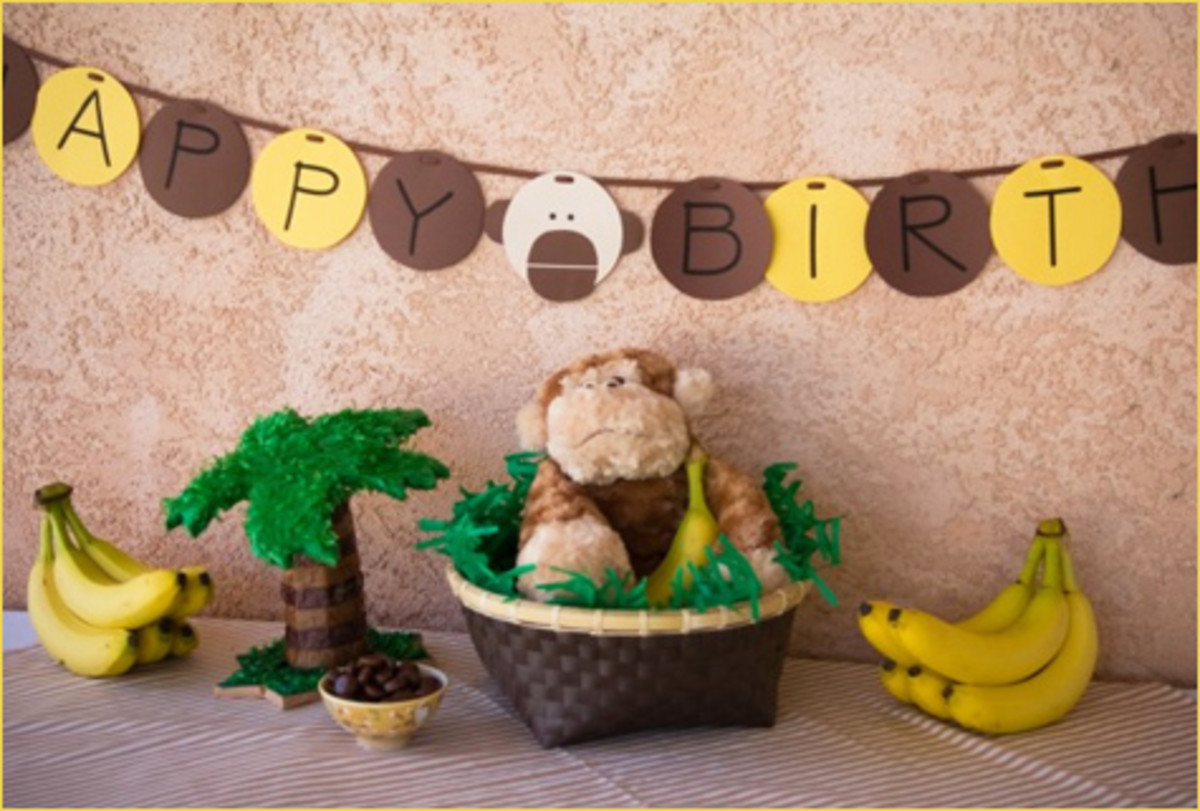 Monkey Baby Shower Ideas Decorations Hubpages