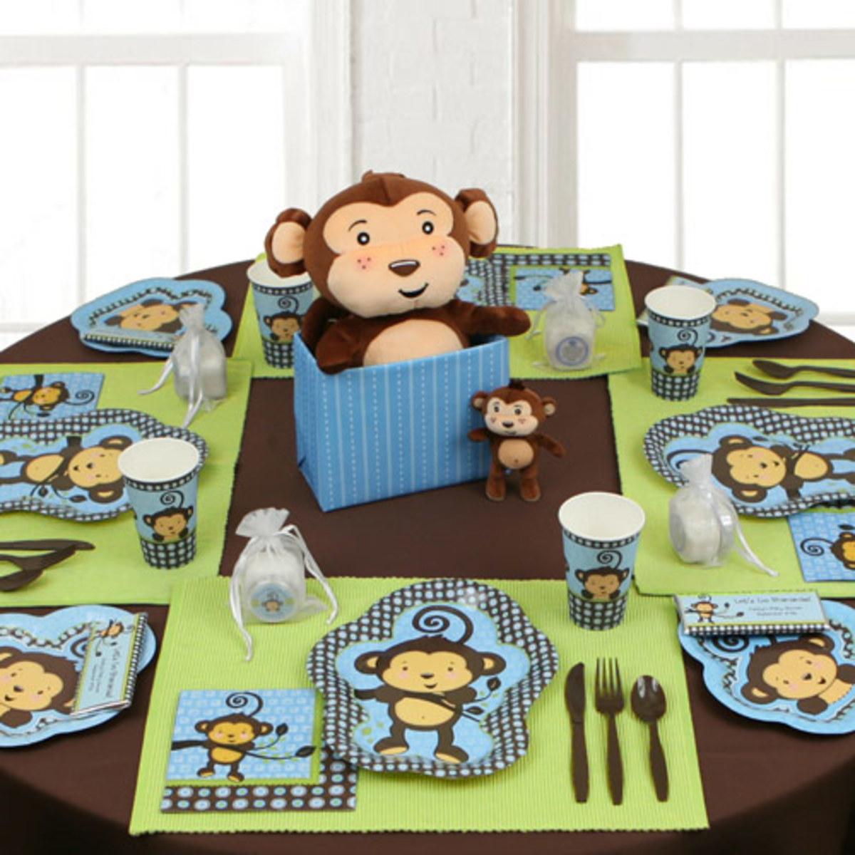 monkey baby shower ideas decorations