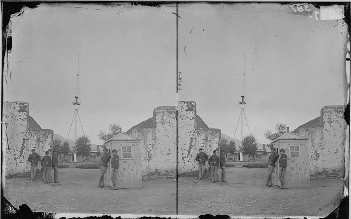 FORT GARLAND, COLORADO 1874