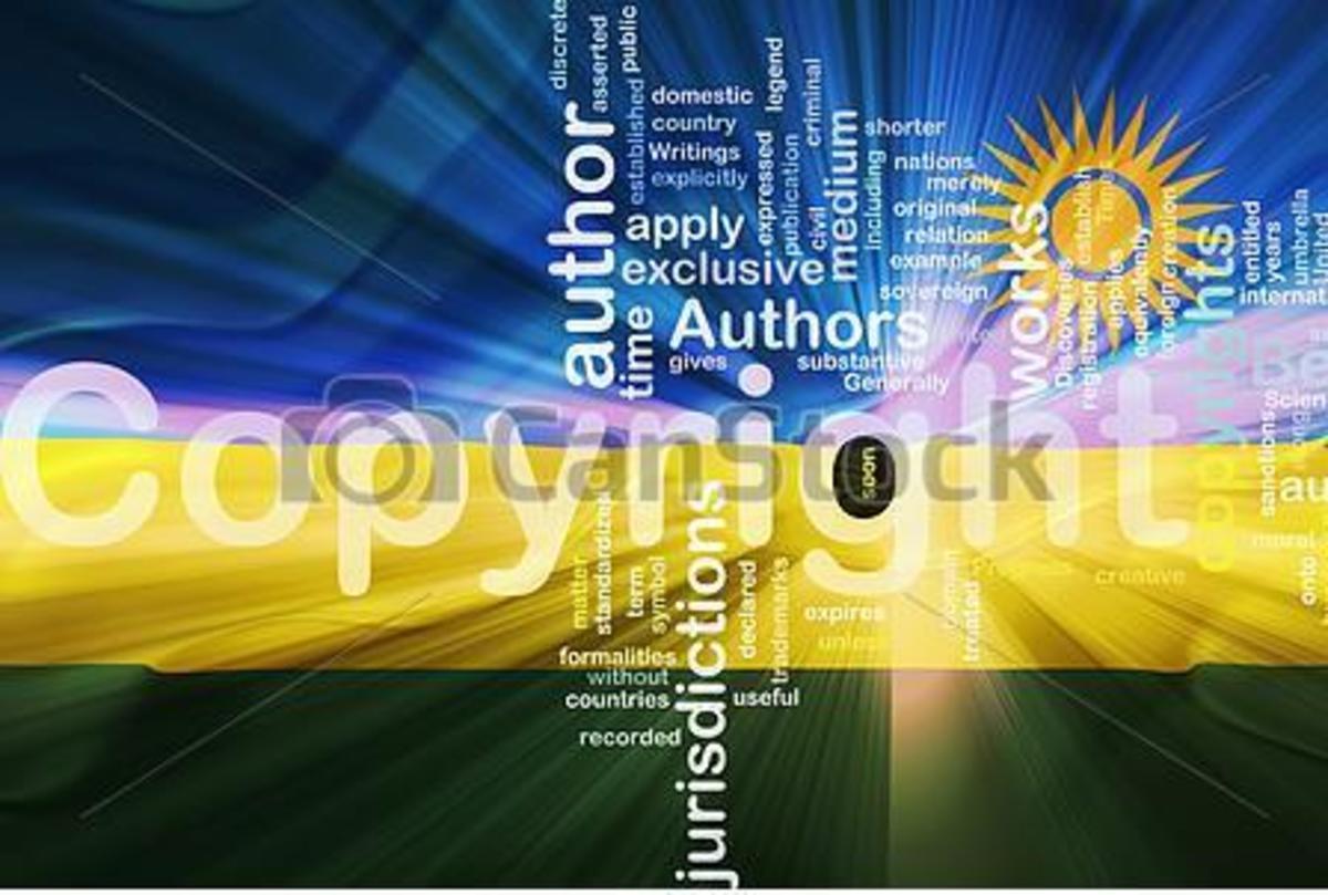 copyright in Rwanda
