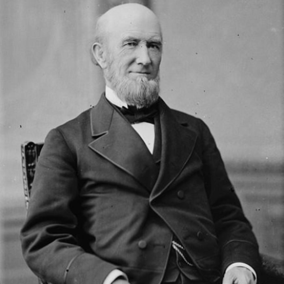 "James Buchanan Eads. Library of Congress description: ""Eads, Hon. James B. of MO. (Built the St.Louis Bridge)"" between 1865 and 1880"