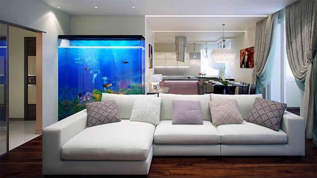 To add more water energy into a home there is one simple step to take: add an aquarium. You could also add fish bowl.