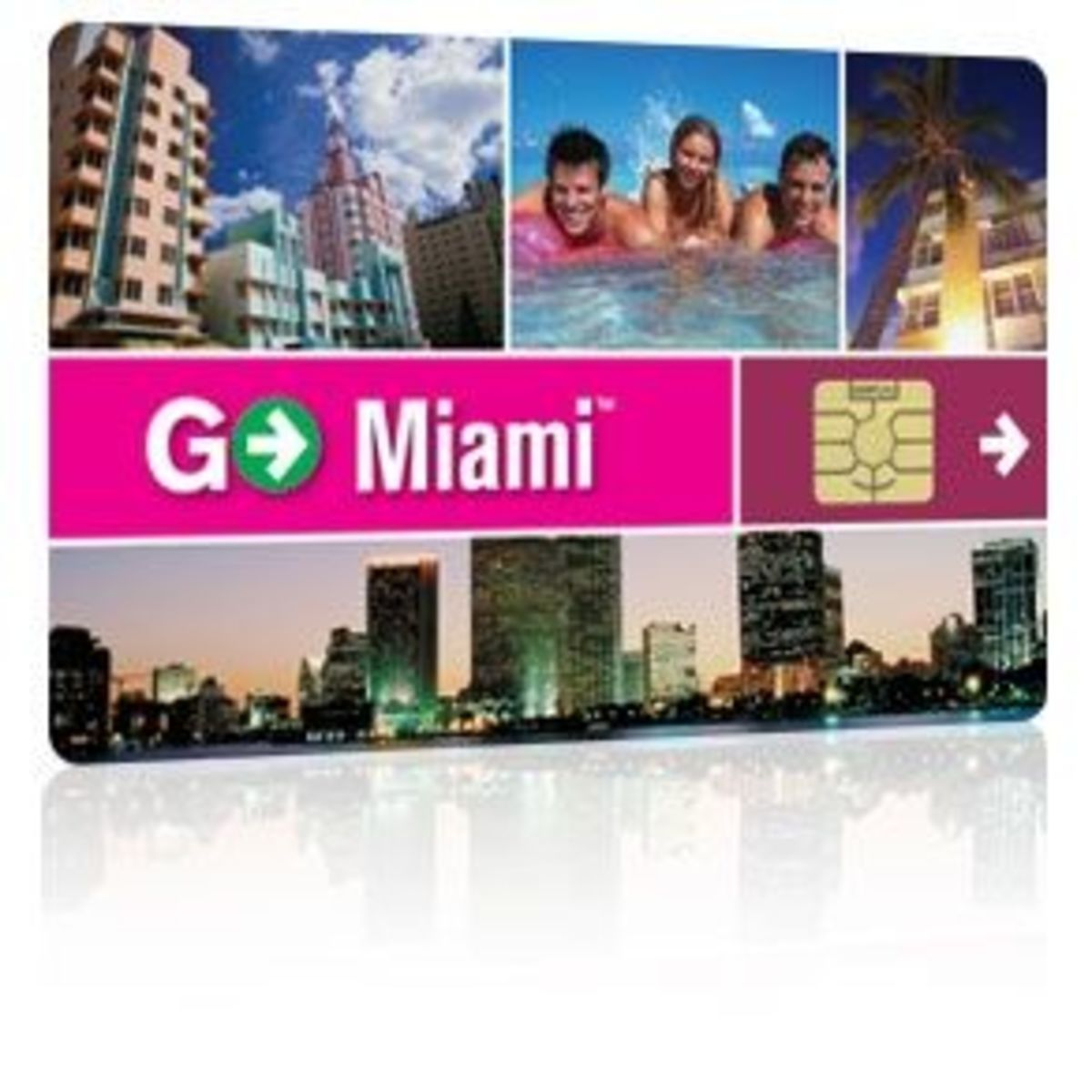 A Go Miami Card from Smart Destinations is an attraction pass that gets you into multiple attractions and tours for one low price. It provides admission to 35 Miami attractions and so much more. Image courtesy of smartdestinations.