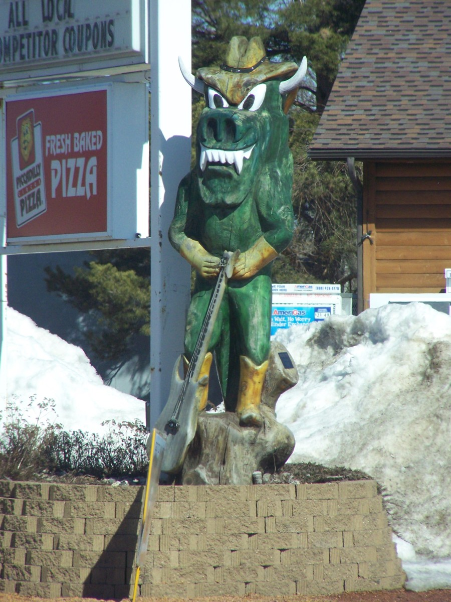 Hodag for the Hodag Country Festival