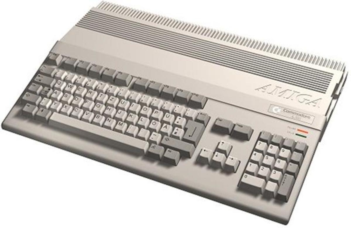 A Commodore Amiga, yesterday