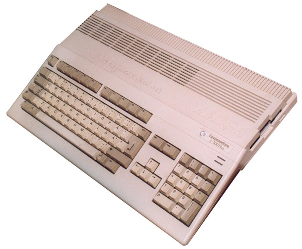 An Amiga 500+