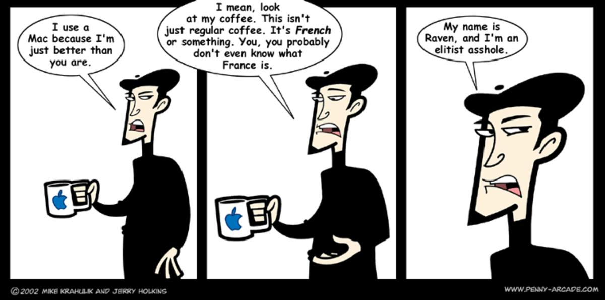 Elitist Cartoon