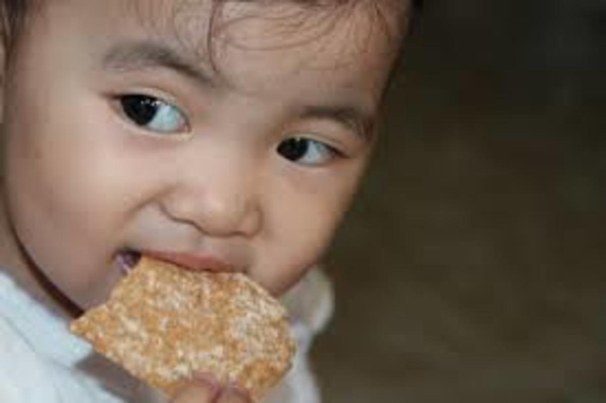 Is your child eating healthy food?