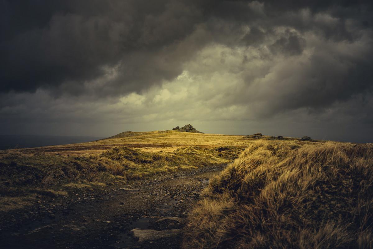 Looking over to West Mill Tor on Dartmoor, UK - Final Edit