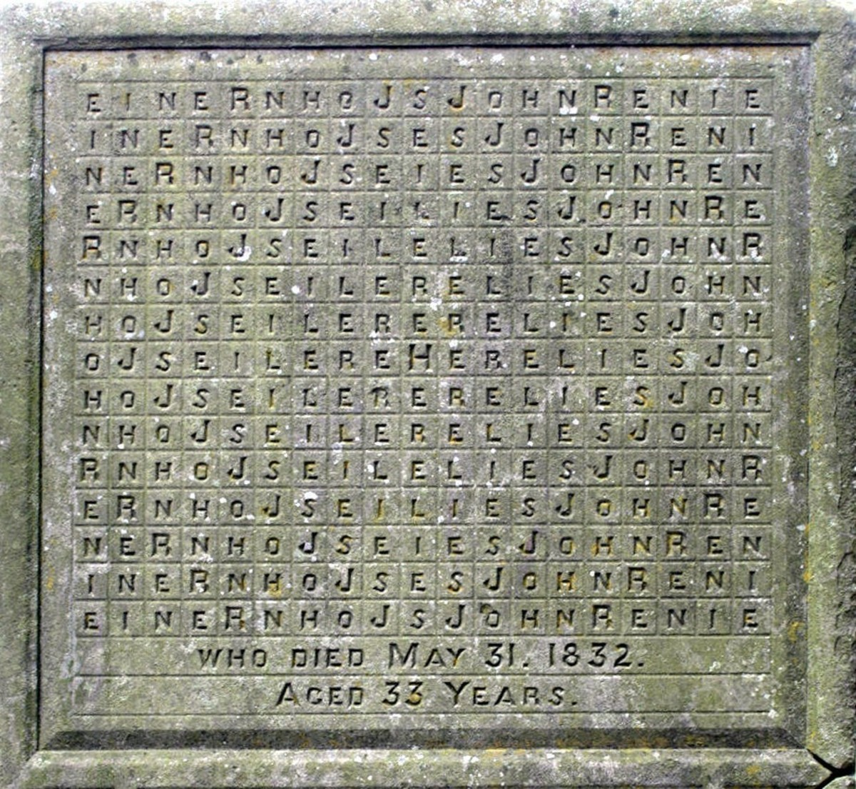 The Fascinating Mystery of the Bean Puzzle Tombstone