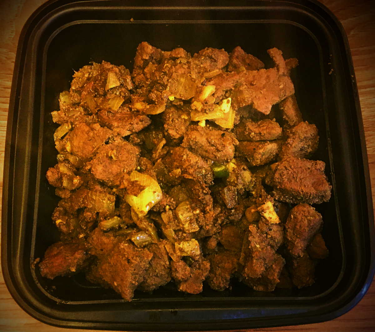 Beef Fry With Indian Spices