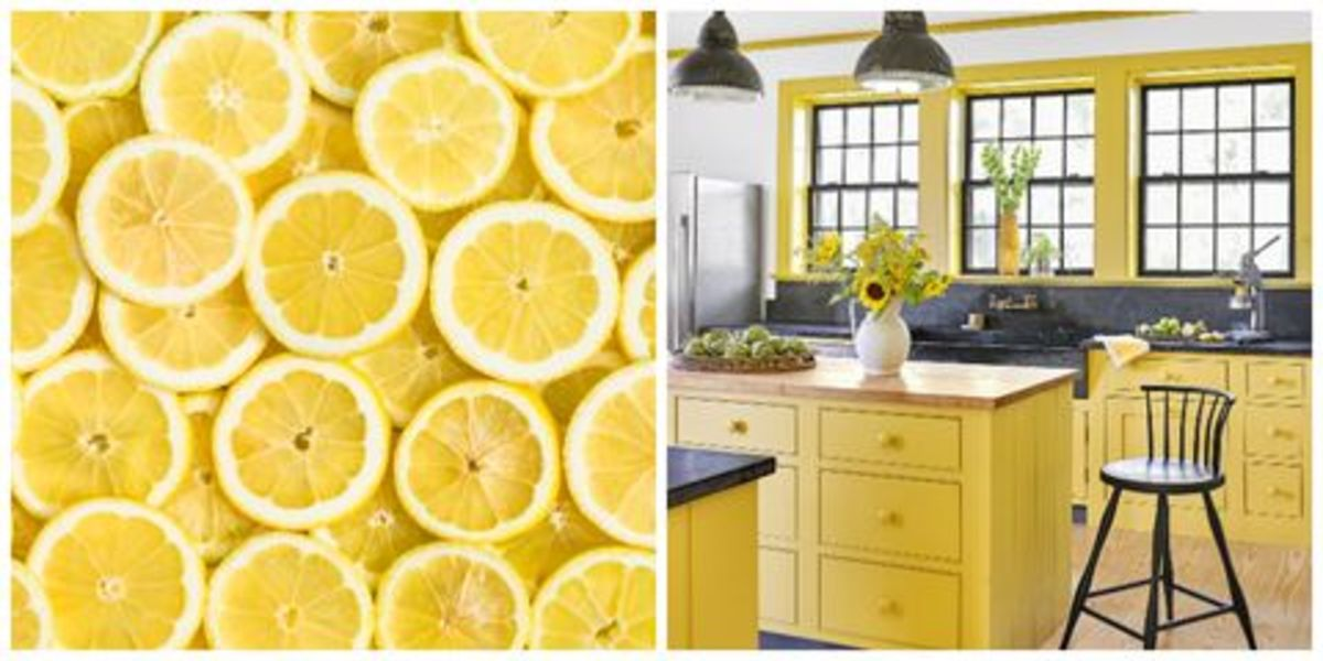 Citrus works well in an area meant for spring or wood feng shui. Decorate your kitchen with lemons.