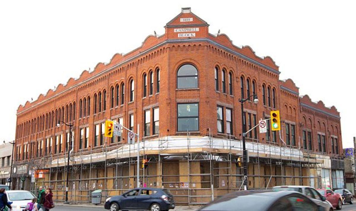 Campbell Block, 2856 Dundas St W, Toronto, Canada.
