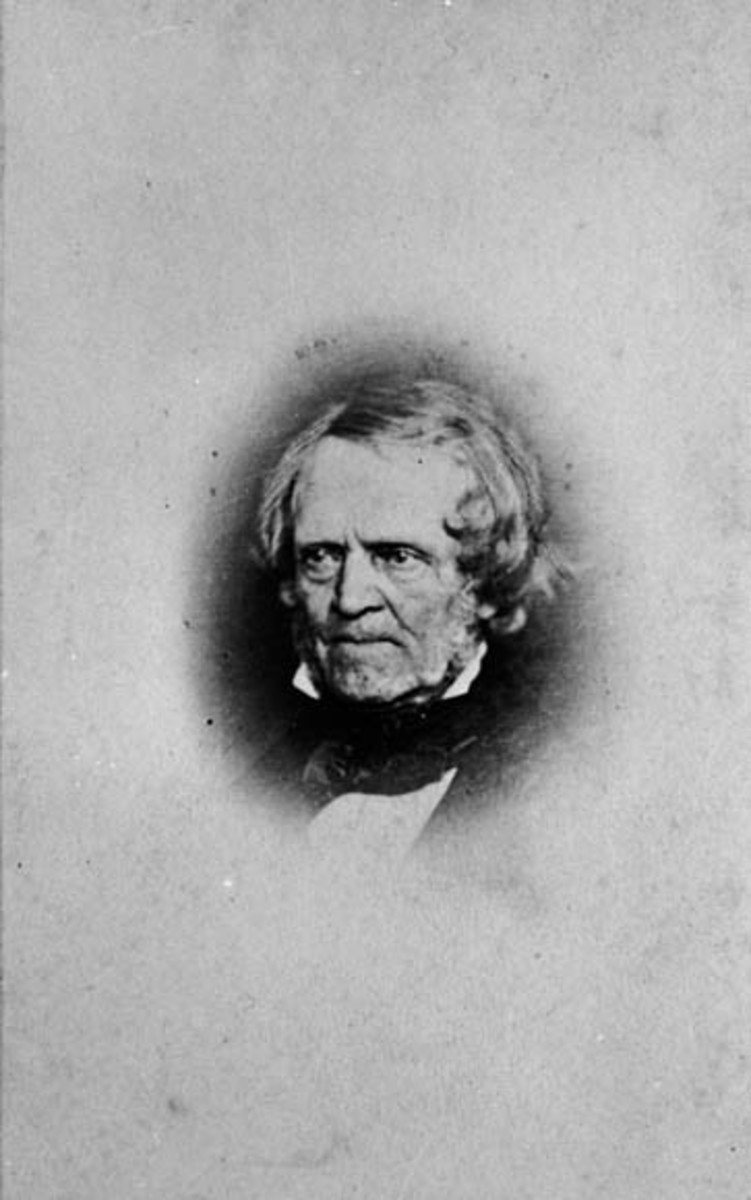 William Lyon Mackenzie, photographer and date not recorded