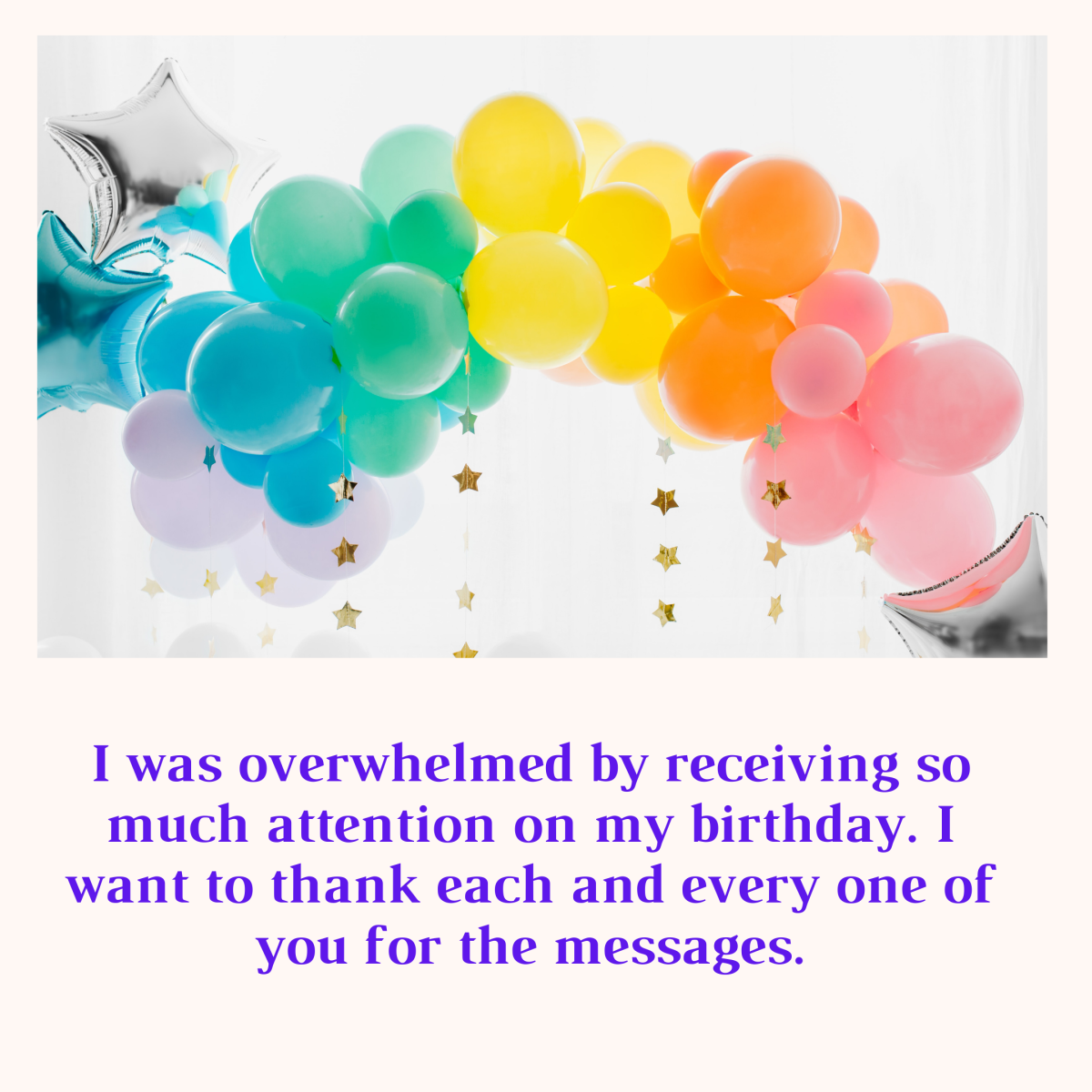 Funny thanks facebook for wishes birthday Thank You