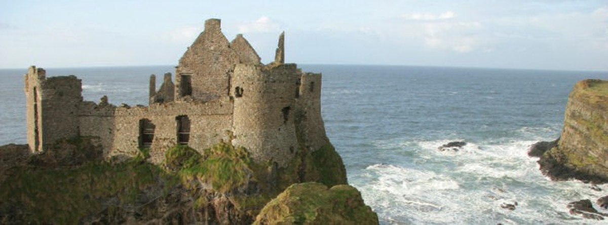 Dunluce Castle (Celtic)  in N. Ireland
