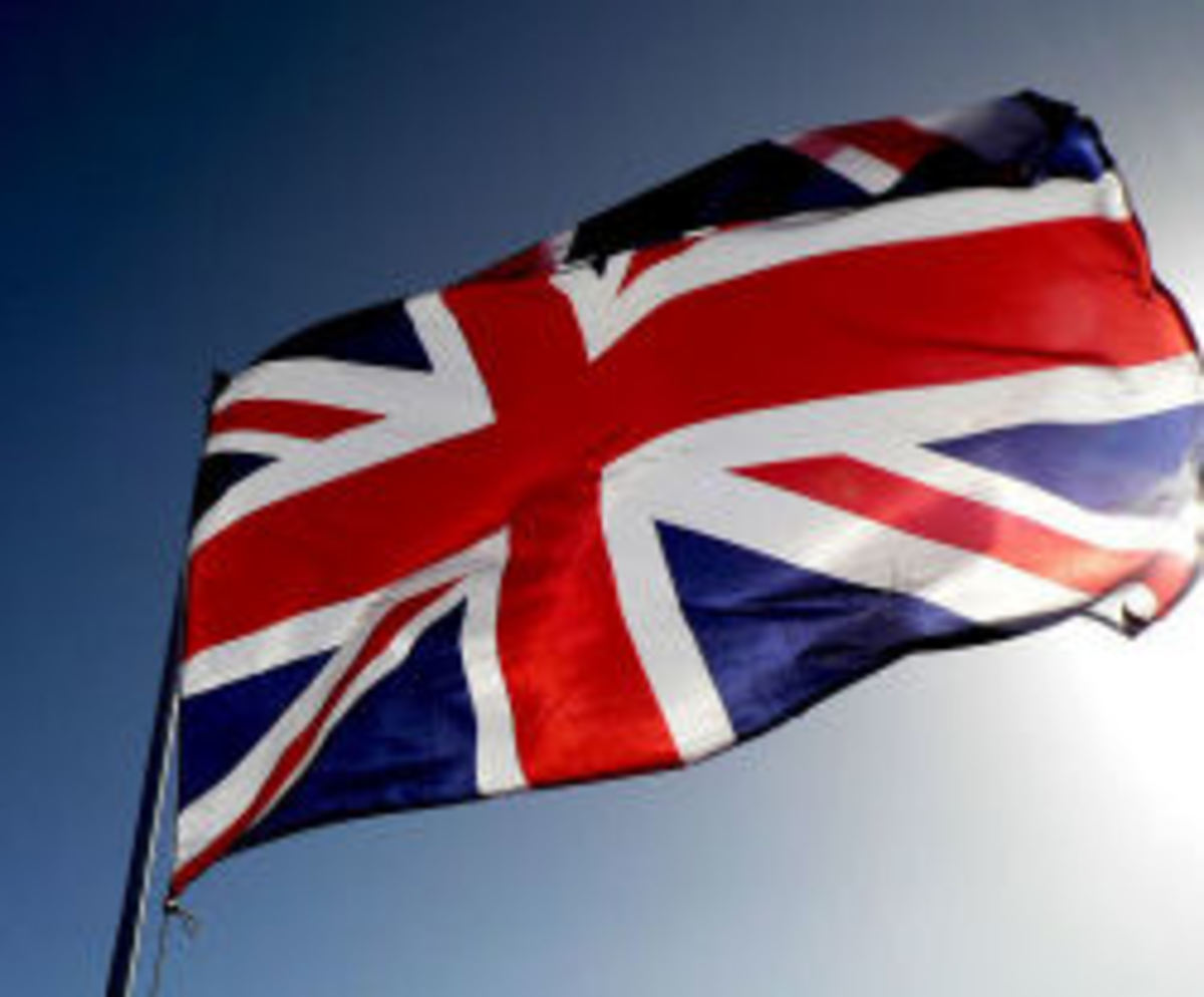 Union Jack, and the official flag of N. Ireland since 1972.