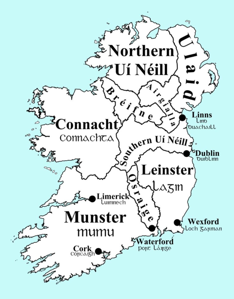 Celtic Ireland pre-history.