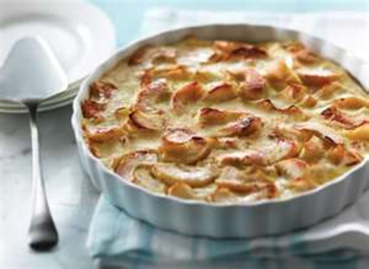 Apple Clafouti