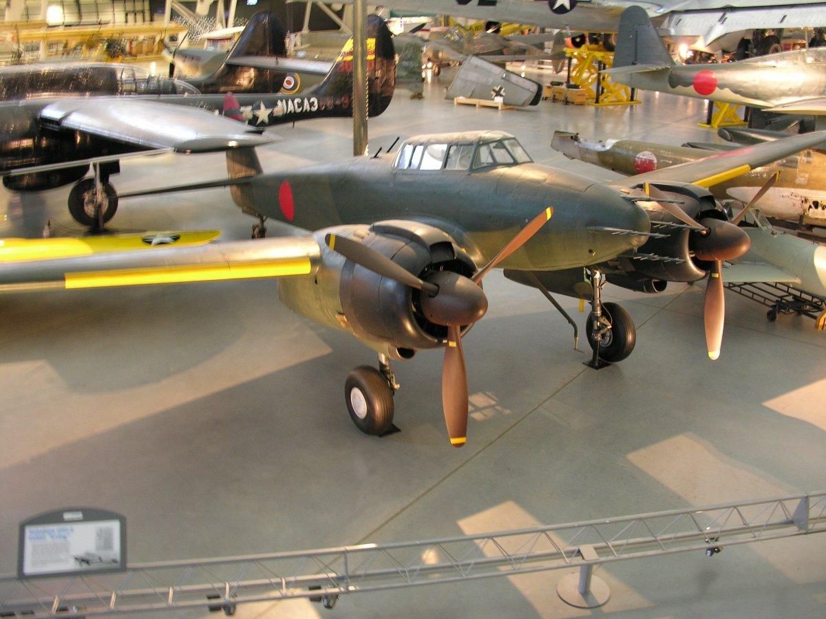 The Nakajima J1N Gekko
