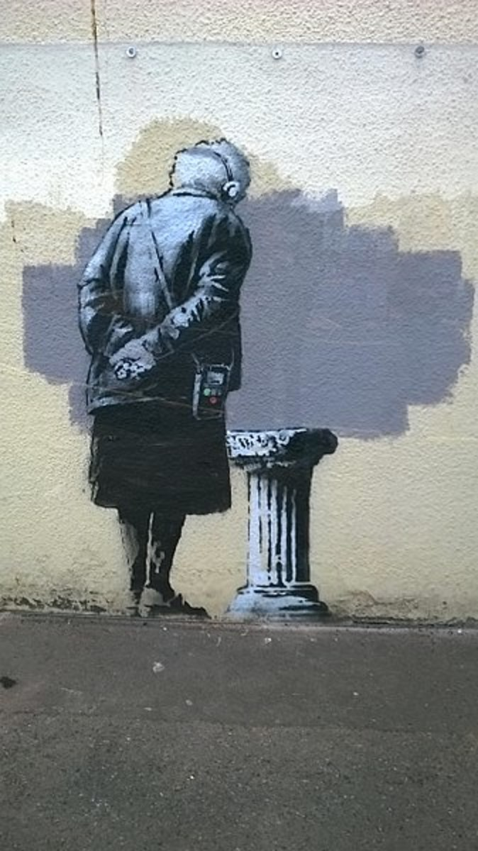 """""""Art Buff"""" by Banksy"""