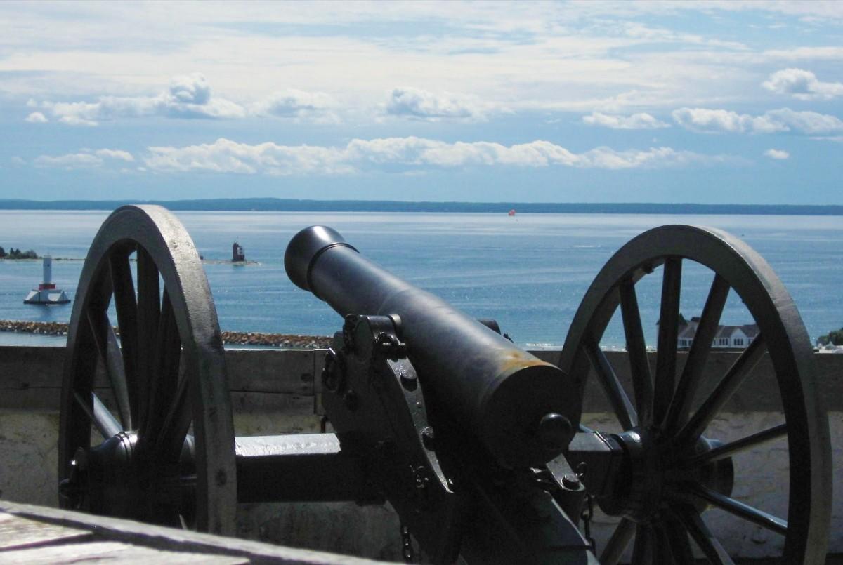 Scenery at Fort Mackinac