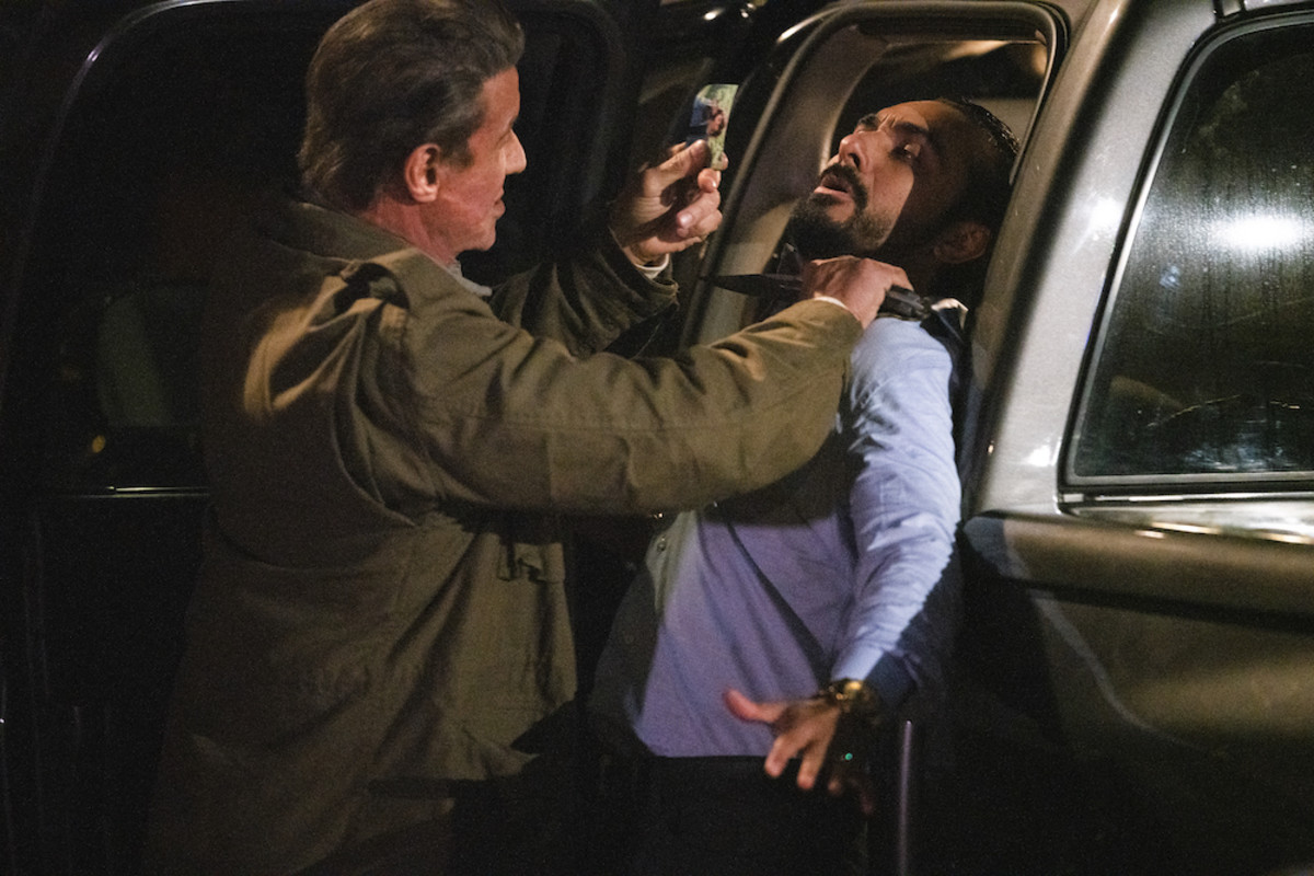 John Rambo confronts El Flaco about Gabriela whereabouts