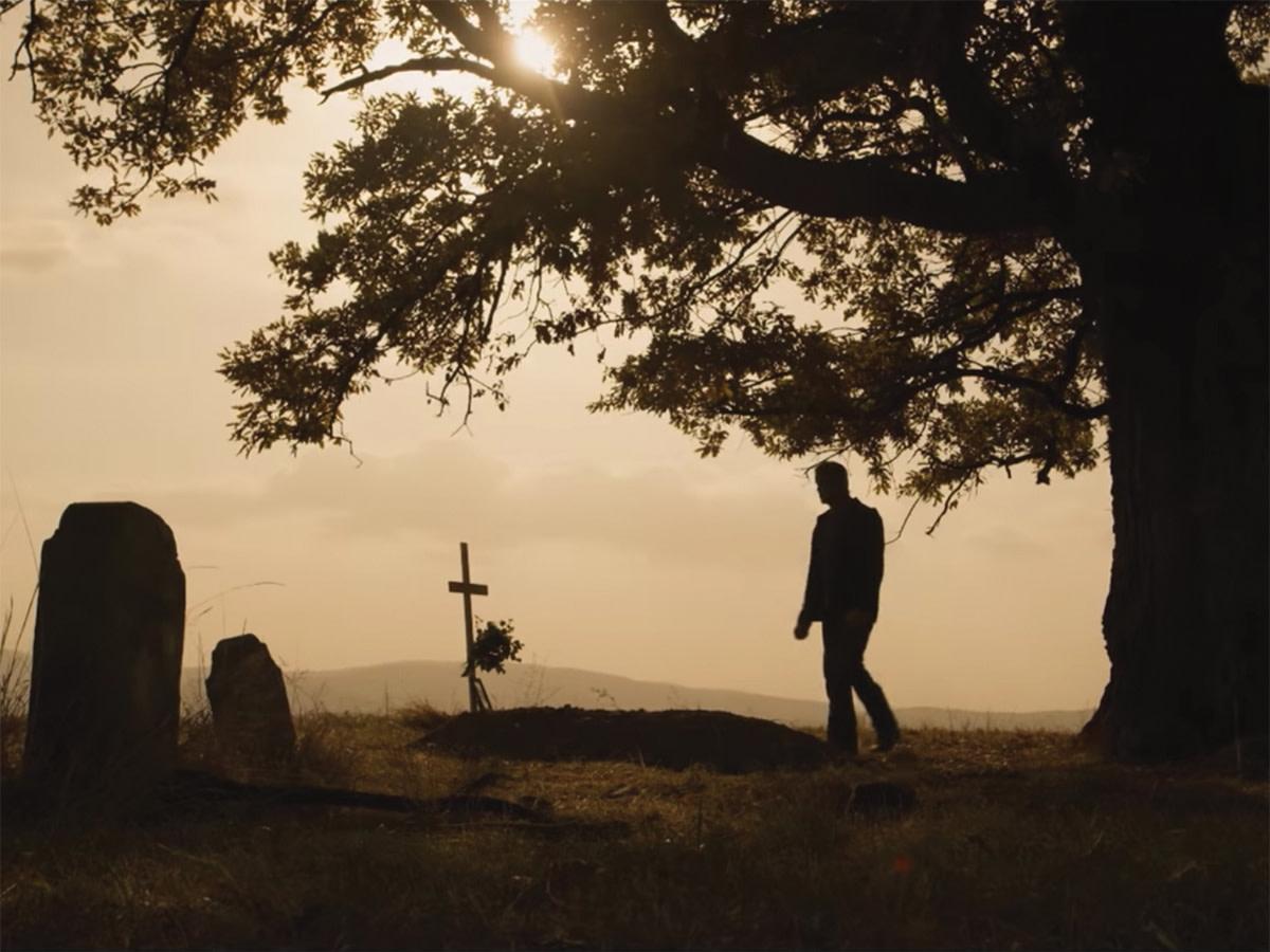 John Rambo visits Gabriela's grave