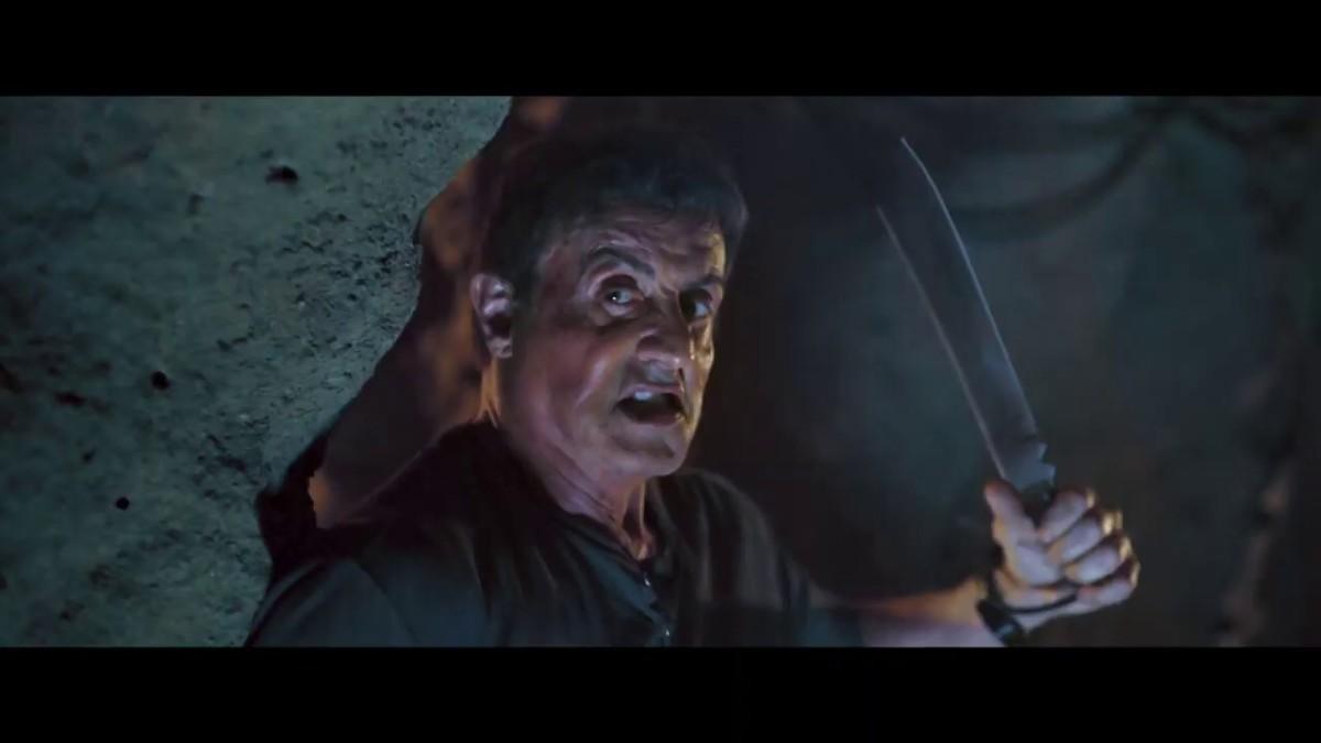 John Rambo ready to fight