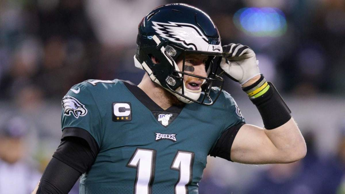 There will be a lot of questions surrounding Carson Wentz and the Eagles in 2021 with Doug Pederson not the coach anymore.