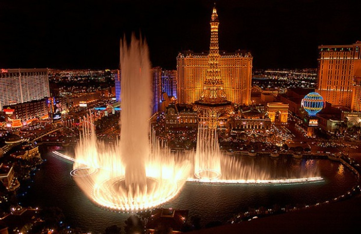 Bellagio Fountains of Las Vegas