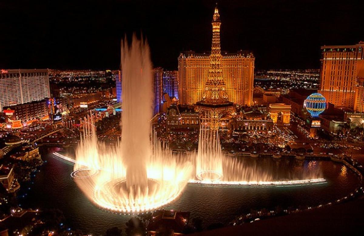 Bellagio Fountains of Las Vegas