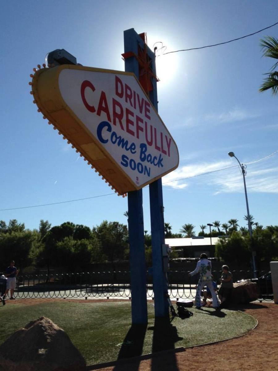 Las Vegas Sign is Free to Visit