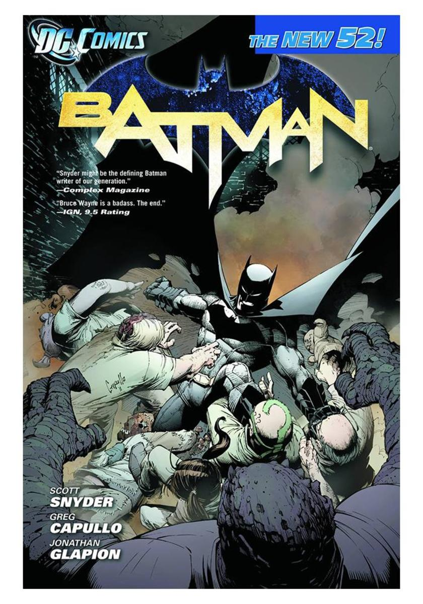 """Batman: The Court of Owls"" Volume 4 cover art."