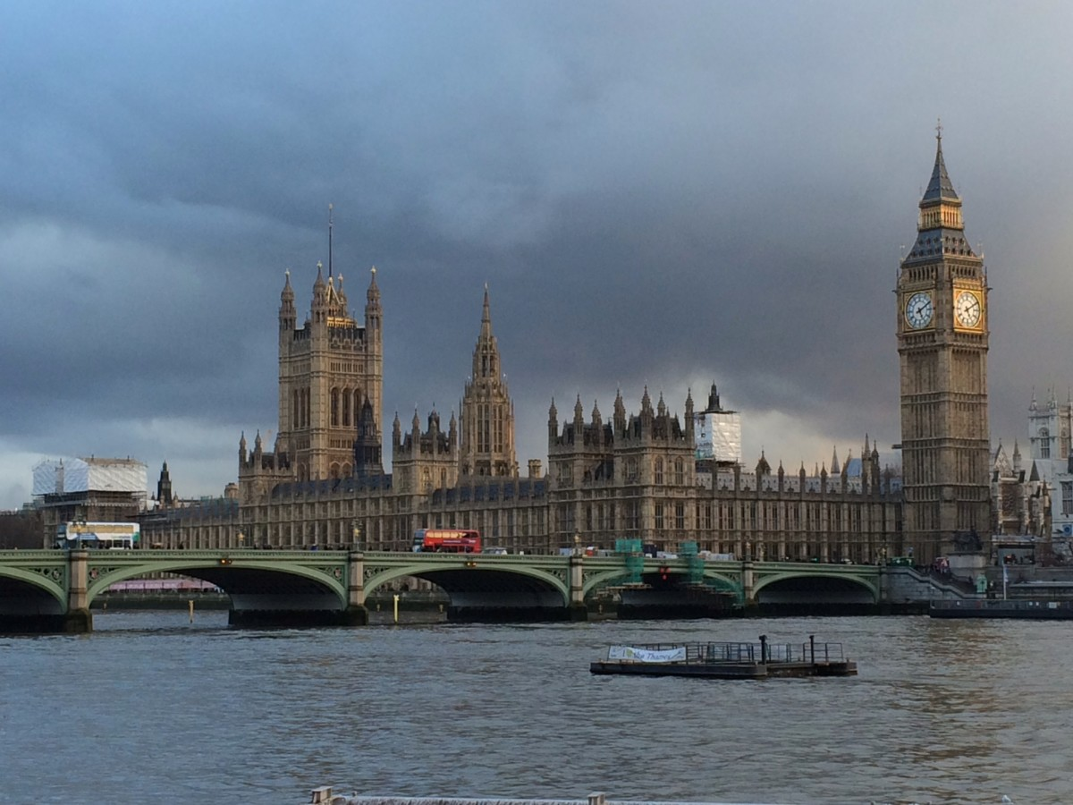 The House of Parliament and Big Ben.