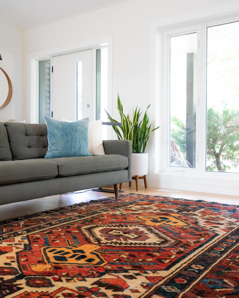 Fabrics trap odors all over your house.