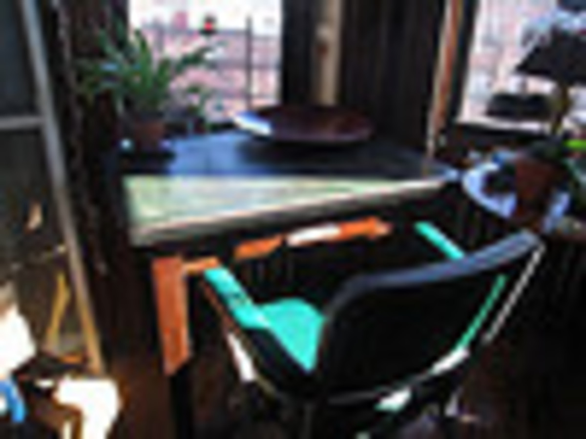 Another example of what an office writing desk can look like.