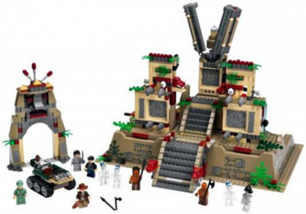 Indiana Jones and the Temple of the Crystal Skull - LEGO sets