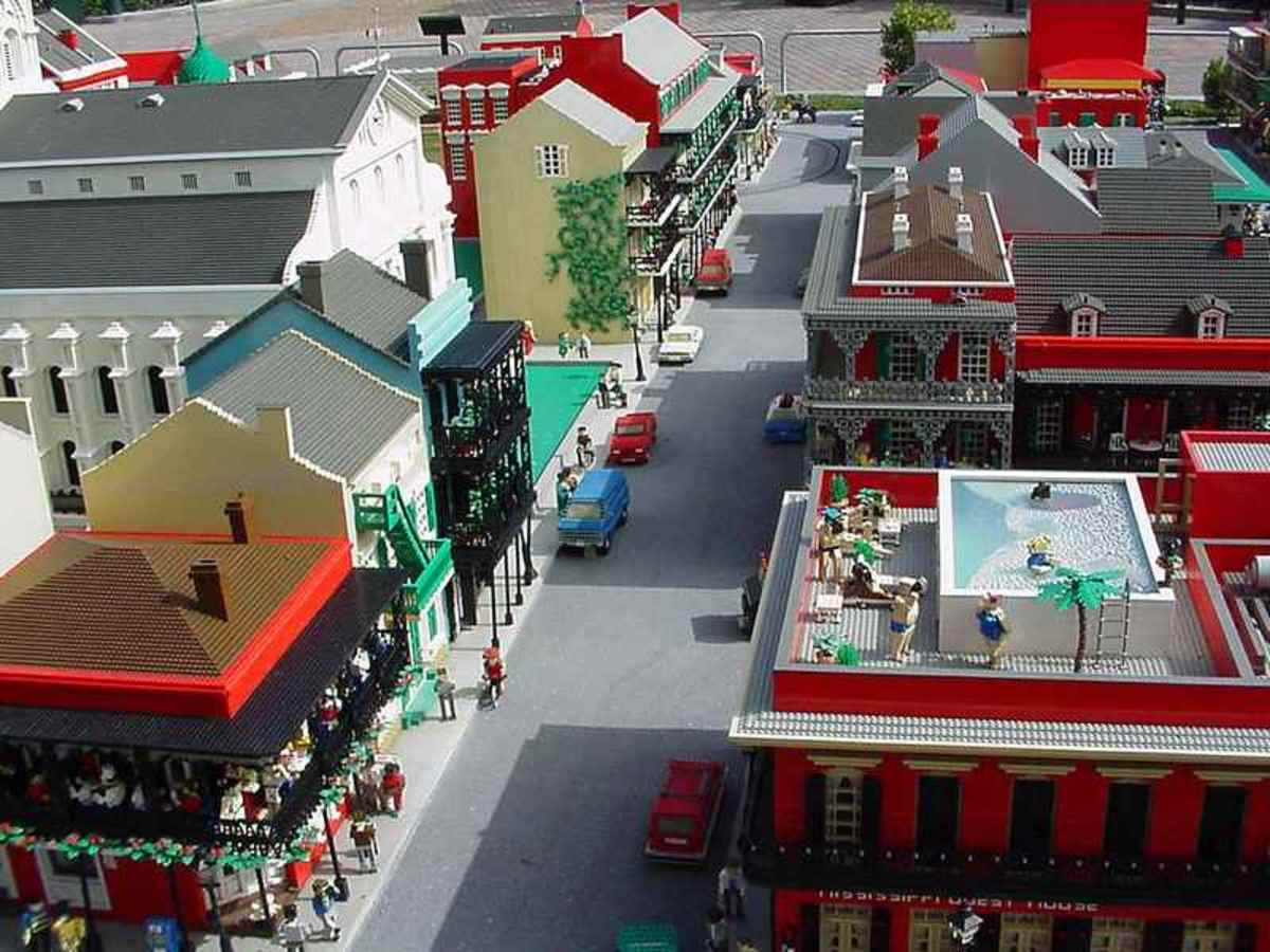 New Orleans French Quarter at LEGOLAND