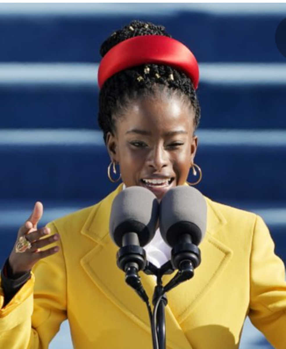 Poet Amanda Gorman Impressed World with Poem at Joe Biden's Inauguration