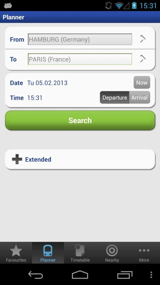 The Rail Planner App is free, very easy to use and works offline