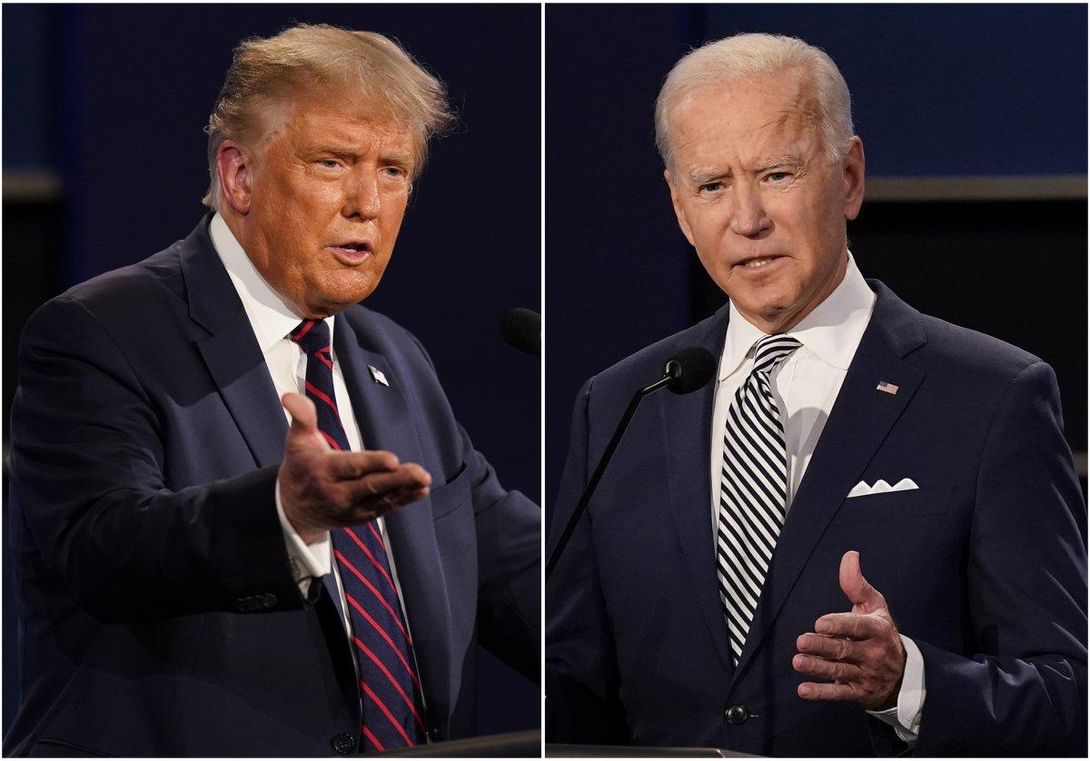 Trump Verse Biden