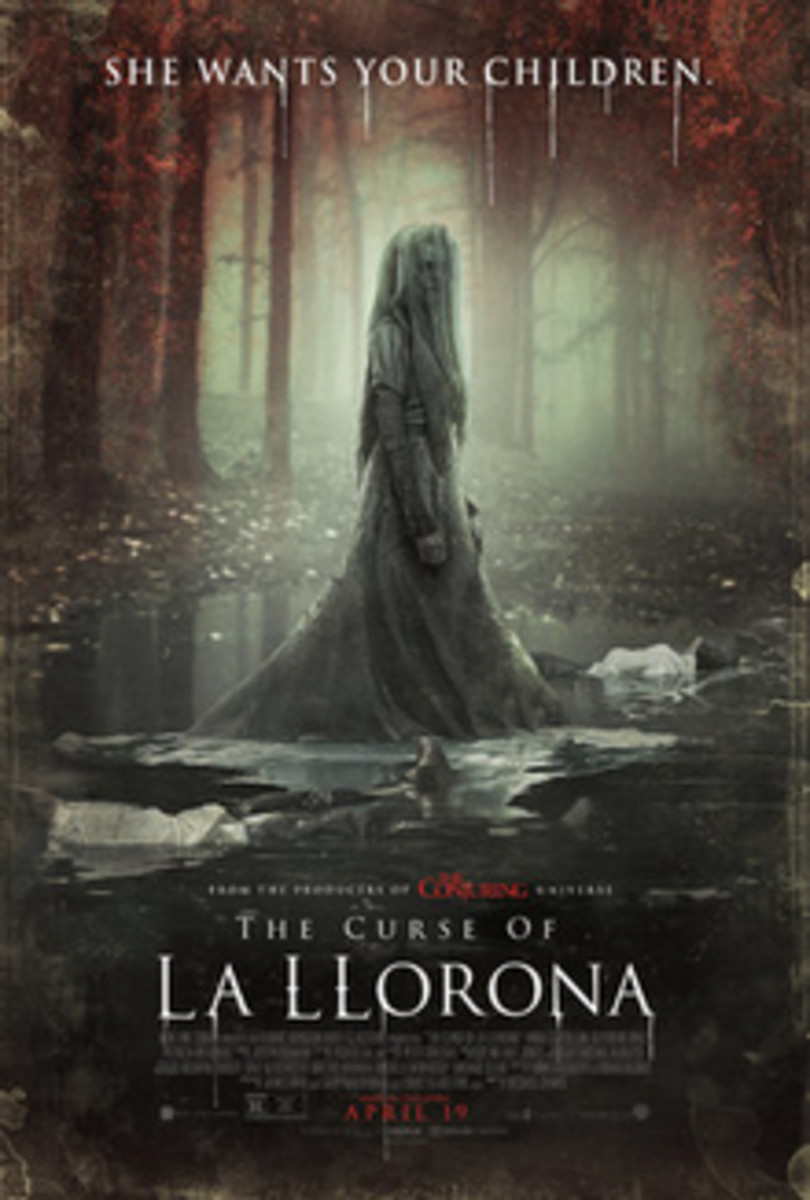 The Curse of La Llorona promotional and theatrical release movie poster.