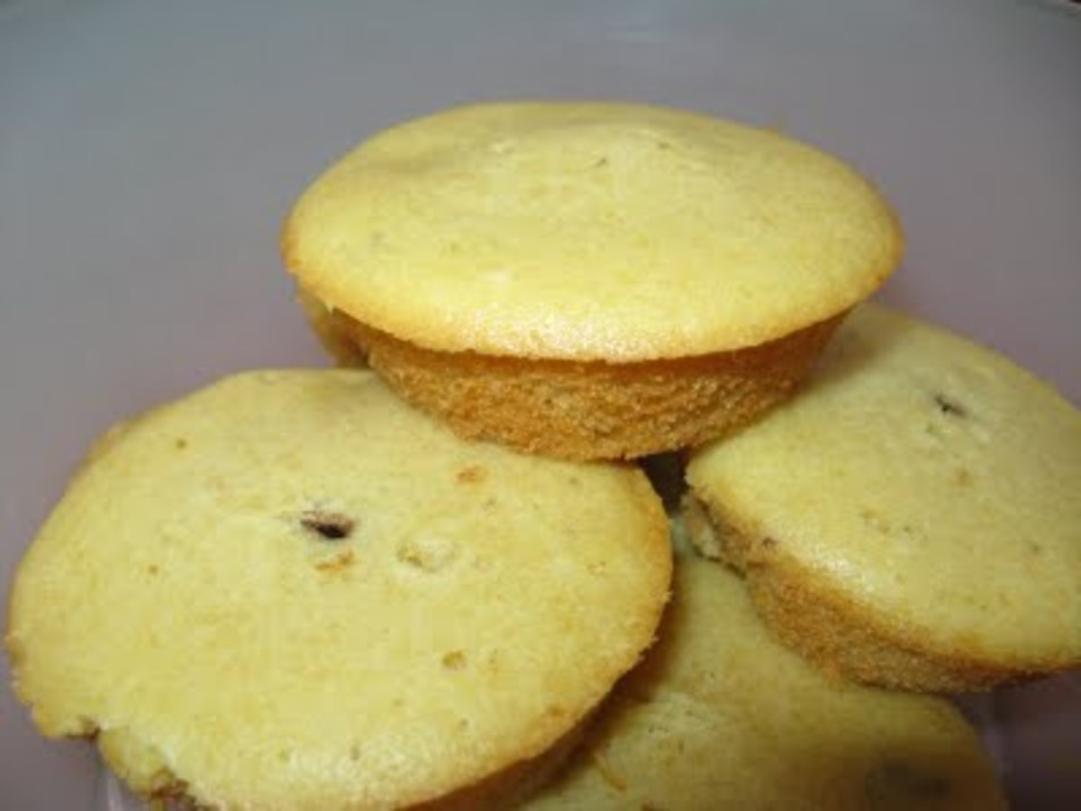 Lovely spongy muffins that I love