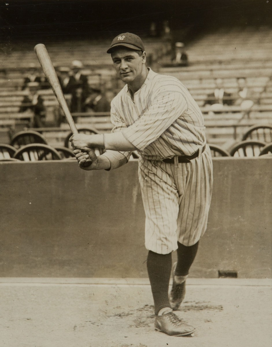 Lou Gehrig is one of several New York natives to thrive with the Yankees. Gehrig was born in New York City.