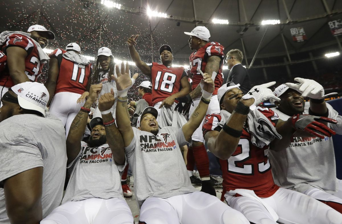 Falcons punch their ticket to the Super Bowl by beating the Packers in the 2017 NFC championship.