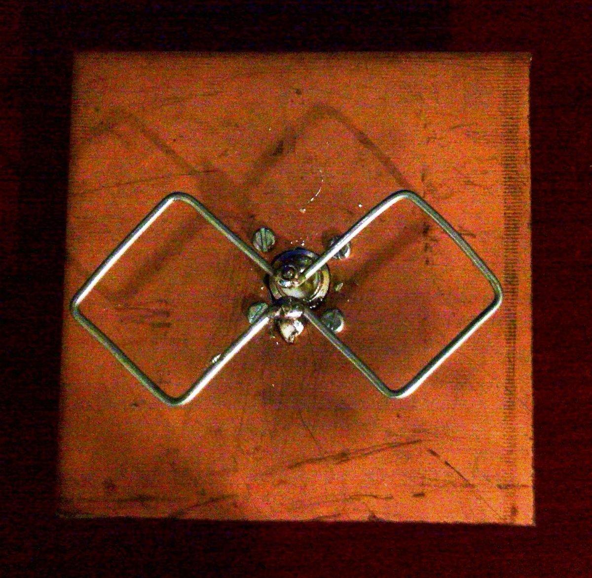 A classic biquad antenna
