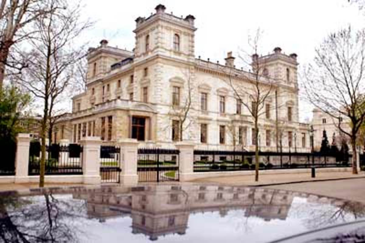 4. Kensington Palace Gardens, London
